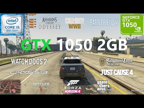 GTX 1050 2GB Test in 11 Games