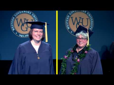 WGU Bachelors Degree Convocation 2017