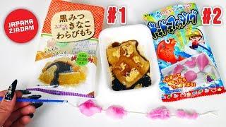 ŁOWIENIE RYB Z PROSZKU + ryżowy żelek! 2 zestawy JAPANA zjadam #130 | Agnieszka Grzelak Vlog