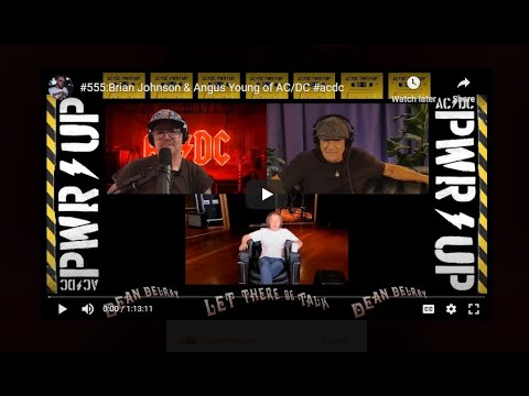 AC/DC'S FIRST EVER PODCAST INTERVIEW w/ Brian Johnson and Angus Young posted!