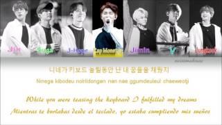 BTS (방탄소년단) - Born Singer Lyrics (Han/Rom/Eng/Esp) Color Coded