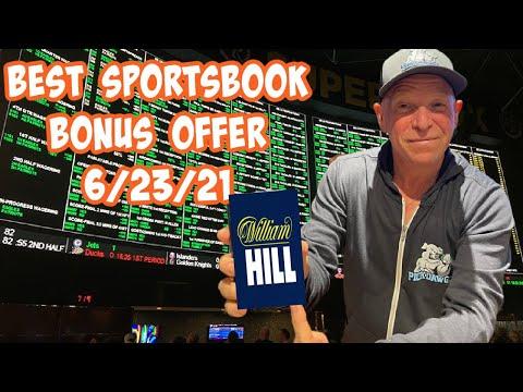 Best Online Sportsbook Bonus Offer Today 6/23/21