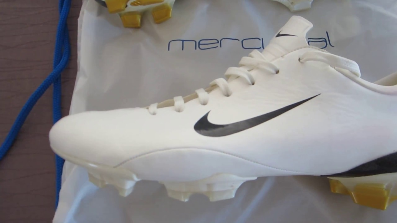 the latest 4c630 f6e04 FOR SALE MINT NIKE MERCURIAL VAPOR III R9 HENRY WHITE FG WORLD CUP 2006