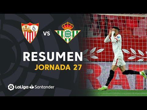 Resumen del Gran Derbi: Sevilla FC 1 - Real Betis 0