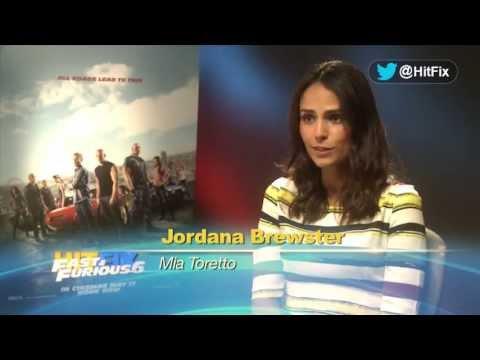 Fast & Furious 6 - Jordana Brewster Interview
