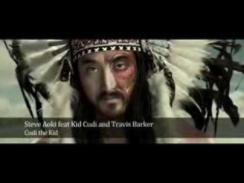 Steve Aoki feat Kid Cudi and Travis Barker  Cudi the Kid    YouTube   Low Quality 240p