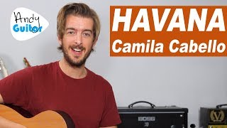 Havana Guitar Lesson Tutorial - EASY 3 chord guitar songs - Camila Cabello