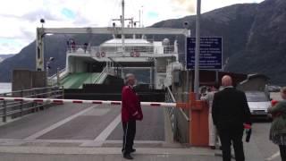 Siste ferjetur mellom Bruravik og Brimnes