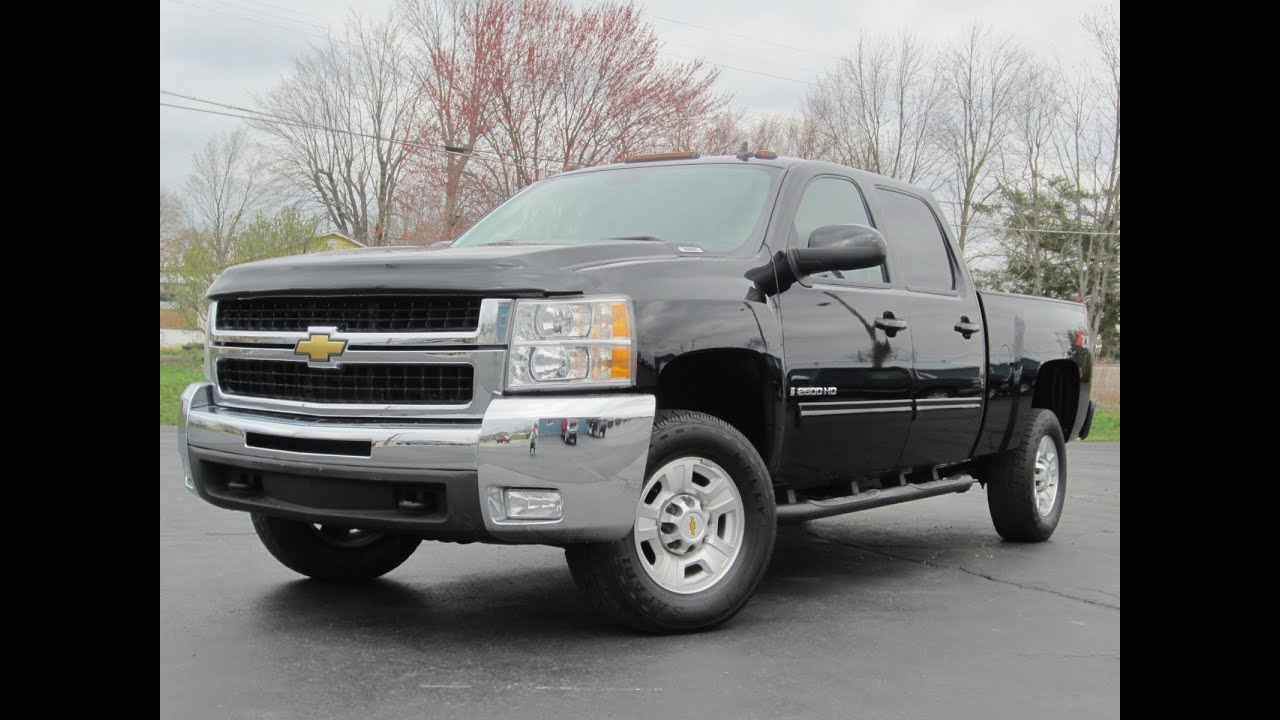2009 chevy 2500hd ltz 4x4 6 0l vortec loaded leather nav dvd sunroof sold youtube