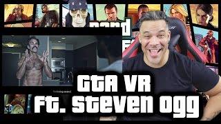 GTA VR (ft. Steven Ogg) REACTION!!!