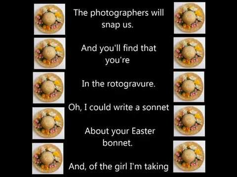 Easter Parade Bonnet Song and Lyrics HD