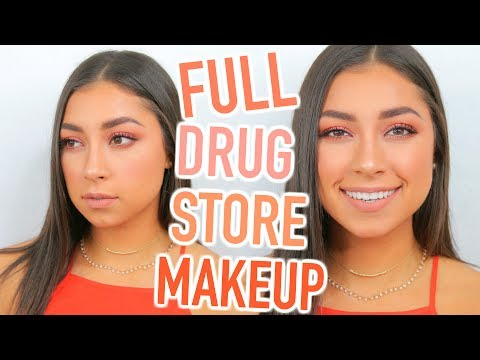 Face Full of Drugstore First Impressions - Makeup Tutorial!