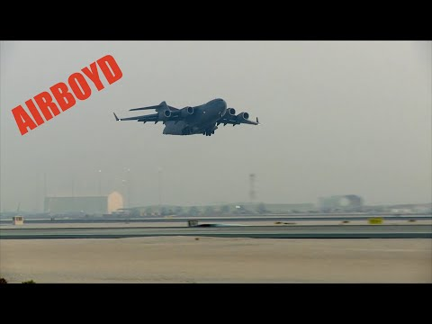 Flights Operations At Al Udeid Air Base, Qatar