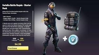 Fortnite Battle Royale - Starter Pack Coming Soon