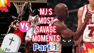 Michael Jordan's Most Savage Moments