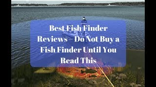 "Ibobber Wireless Handheld Fish Finder ""Real"" Review"