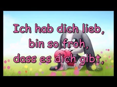 Schnuffel - Ich hab dich lieb (mit Lyrics)