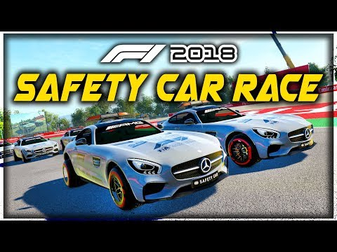 WHAT IF WE HAD 20 SAFETY CARS RACE EACH OTHER?! - F1 2018 Game Experiment |
