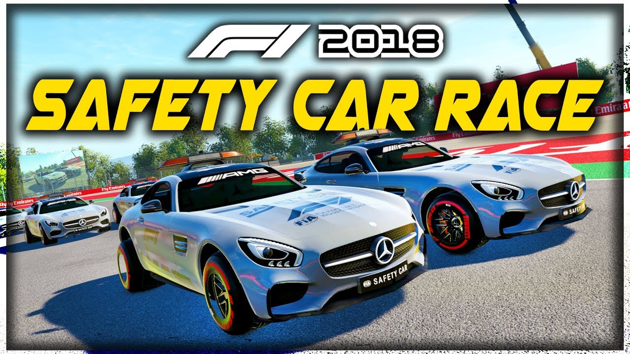 WHAT IF WE HAD 20 SAFETY CARS RACE EACH OTHER?! - F1 2018 Game Experiment