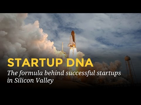 Startup DNA: the formula behind successful startups in Silicon Valley.