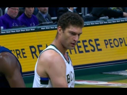 Brook Lopez Highlights vs T'Wolves RS19G59 - 19 Pts, 7 Rebs, 4 Blks (23.02.19)