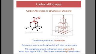 Chemical Bonding 7 - Carbon Allotropes