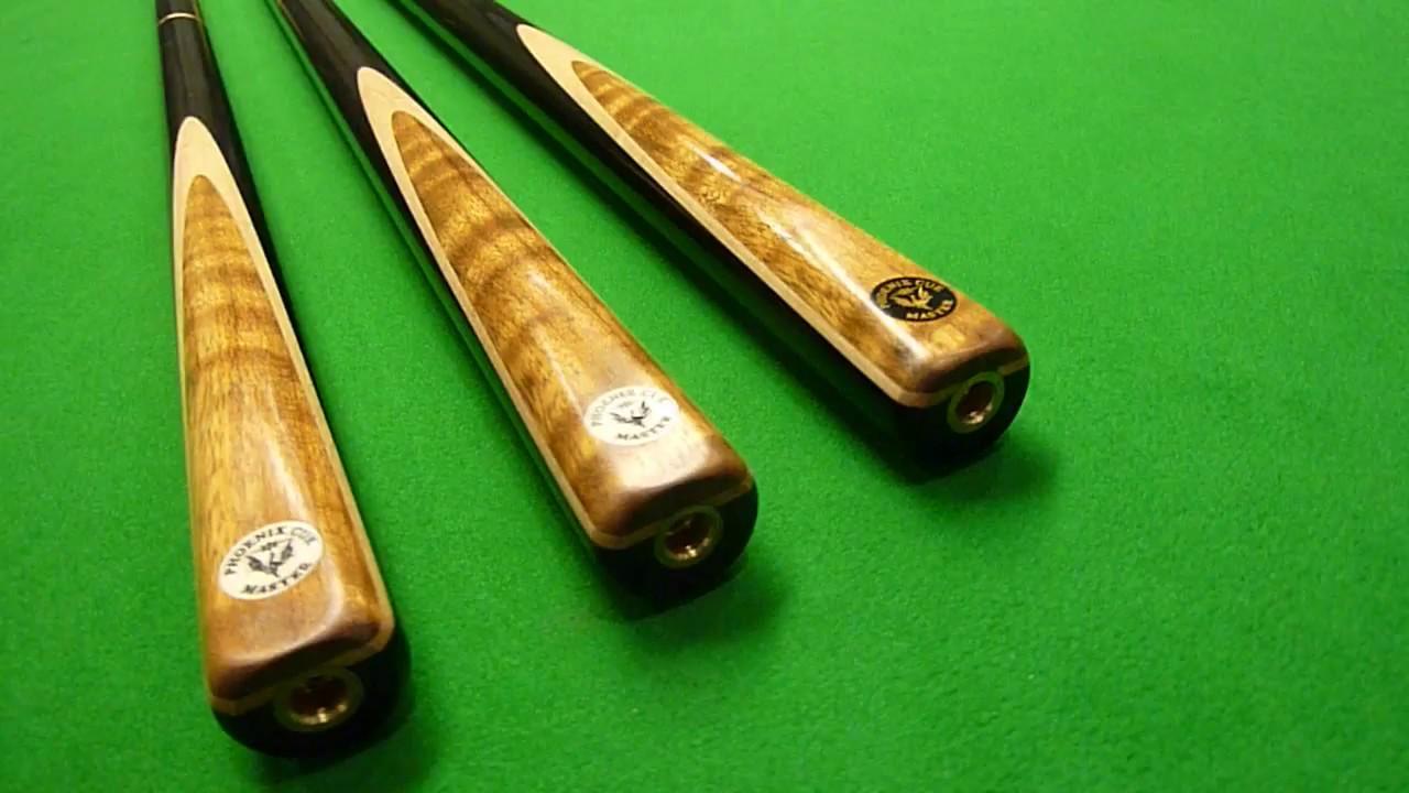 HANDMADE 3//4 Multi-spliced Handmade Snooker Cue With Ash Shaft #wd21