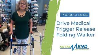 Product Demo: Drive Medical Trigger Release Folding Walker