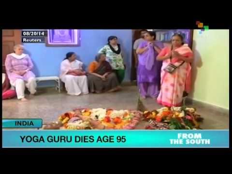 Yoga guru dies in India