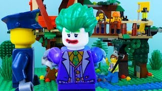 LEGO Marvel And DC Heroes Unite | Lego ToysReview | Lego Stop Motion Parody