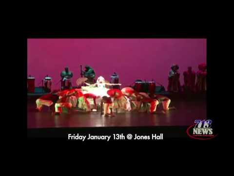 Brazilian Folk Dance Group Performs in Houston