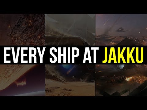 Every Ship at the Battle of Jakku   Star Wars Lore Explained