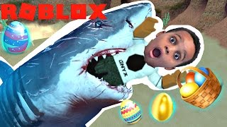 EASTER EGG HUNT WITH SHARKS - Roblox