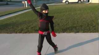 Practicing Ninja Moves