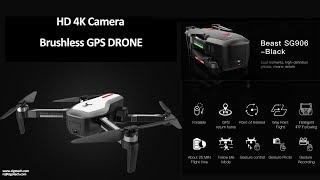 Zigo New HD 4KCamera GPS 5G Wifi FPV Brushless Optical flow positioning Selfie Foldable RC Drone RTF