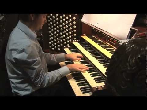 Ken Cowan plays The Great Organ - Cathedral of St John the Divine New York City