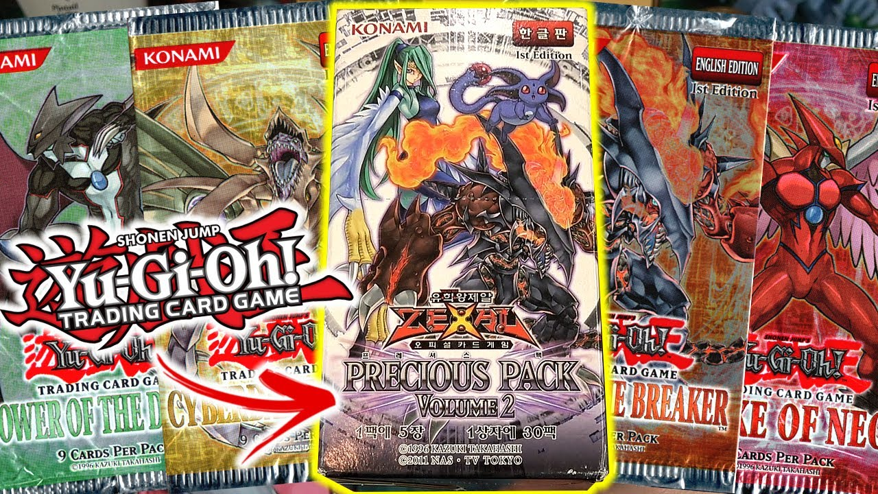 CLASSIC Yu-Gi-Oh! GX Sets Combined! Precious Pack Unboxing