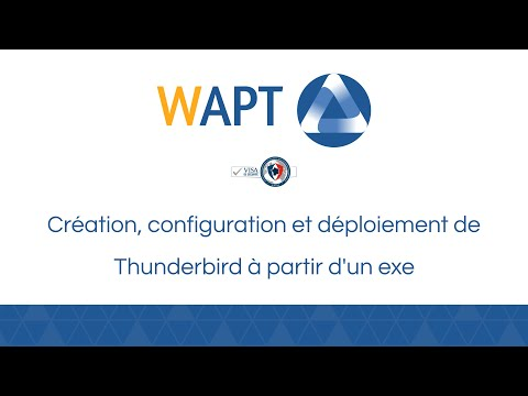 WAPT - Software deployment solution for Windows