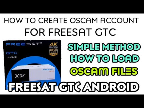 How to import export OSCAM SoftCam key file for FREESAT GTC Android