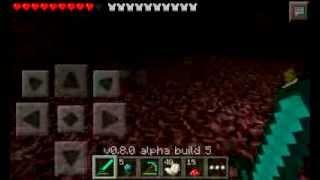Как построить портал в ад в Minecraft PE на телефоне