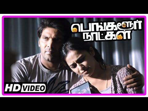 Bangalore Naatkal Movie Scenes | Sri Divya leaves Rana Daggubati | Learns about Samantha | Arya