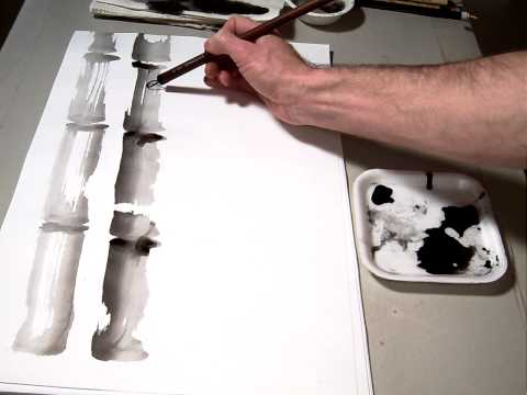 Introduction to Sumi-e Basic Strokes.MOV