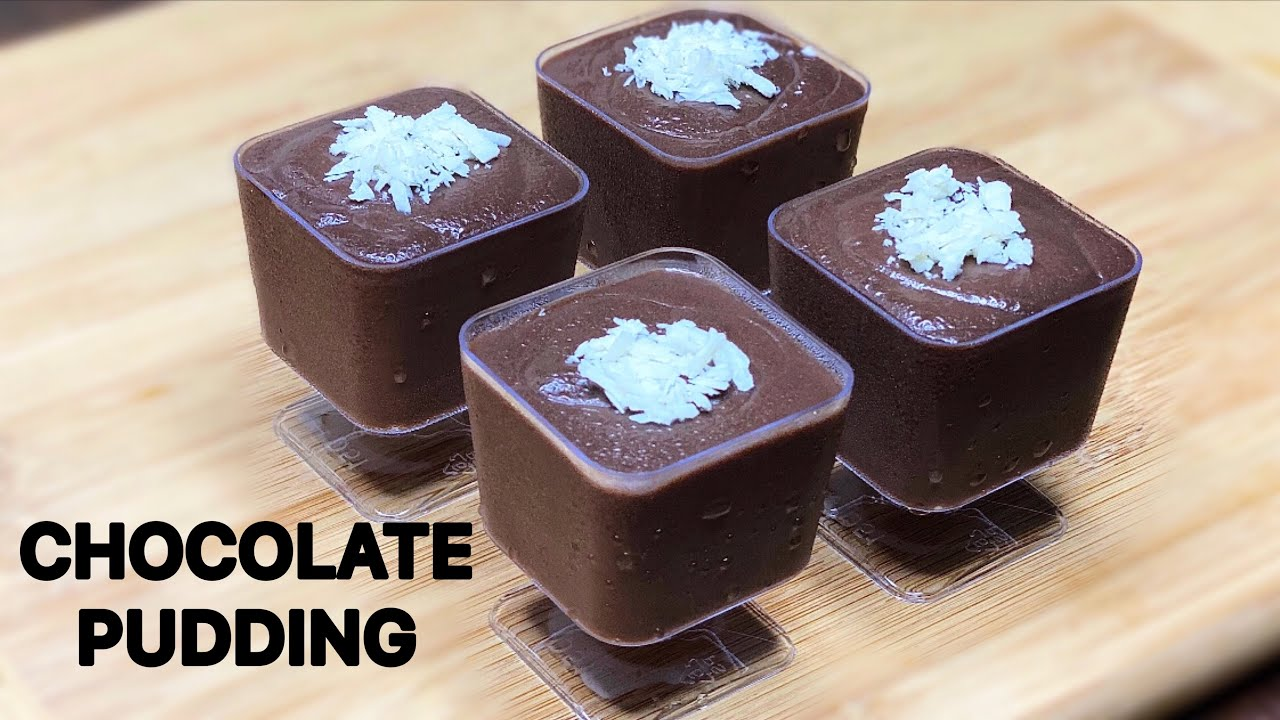 Chocolate Pudding Recipe in 10 Minutes | Chocolate Pudding Dessert Recipe | Eggless Dessert