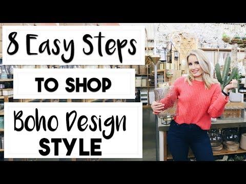 INTERIOR DESIGN: How to Shop for a Boho Design Style