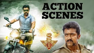 Download lagu Singam 3 Action Scenes Suriya Anushka Shetty Shruti Haasan Harris Jayaraj Hari MP3