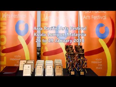 """APAF- KL 2018 """"Loving Life"""" Theme Song for Asia Pacific Arts Festival"""