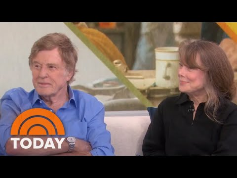 Sissy Spacek And Robert Redford Talk About Working Together For 1st Time | TODAY