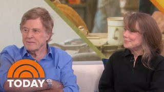 Sissy Spacek And Robert Redford Talk About Working Together For 1st Time   TODAY