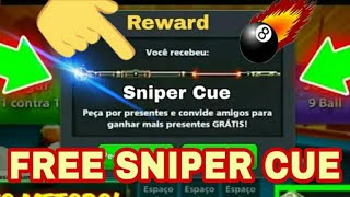 8 Ball Pool Free Sniper Cue New Update Reward Link Live Proof