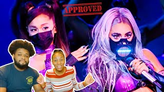 """Lady gaga performs a medley of """"chromatica ii"""", """"rain on me"""" (ft. ariana grande) reaction video"""